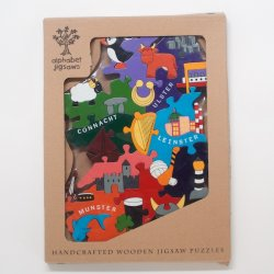 Ireland Handcrafted Wooden Jigsaw Puzzles