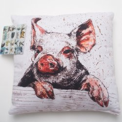 Annabel Langrish Pig Cushion