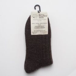 Kerry Woollen Socks Charcoal (Large)