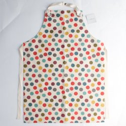 Oil Cloth Apron - Spot - By Ulster Weavers