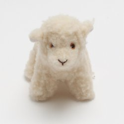 White Face Lamb Wool Toy