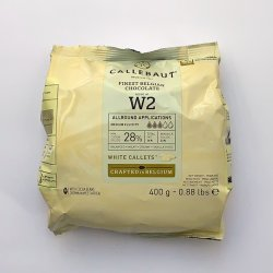 Callebaut White Chocolate Callets - 400g