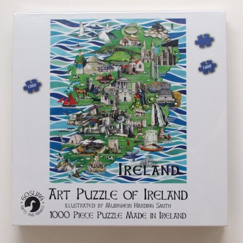 Art Puzzle Of Ireland (1000 Piece)