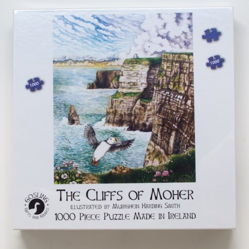 The Cliffs Of Mohar Puzzle (1000 Piece)