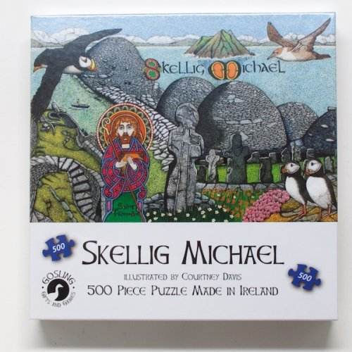 Skellig Michael 500 Piece Puzzle