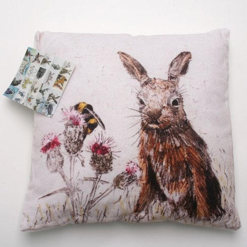 Annabel Langrish Hare Cushion