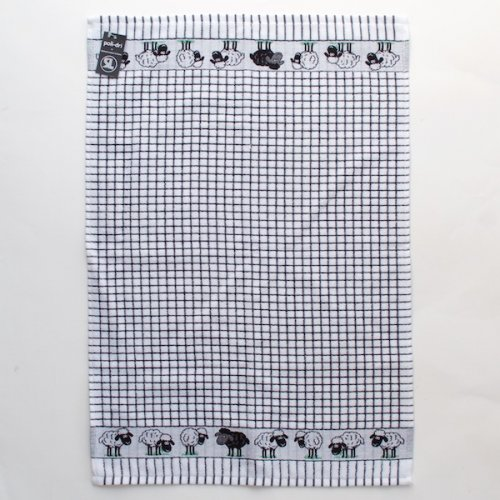 Polidri Black Sheep Tea Towel