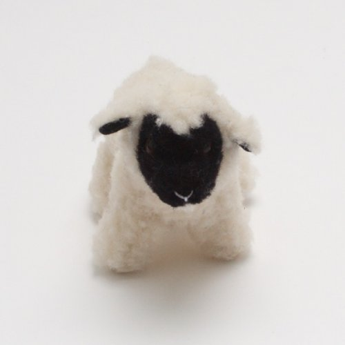 Wool Black Face Lamb Toy
