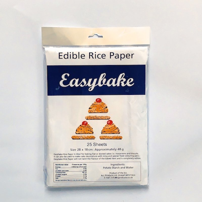 Edible Rice Paper - White