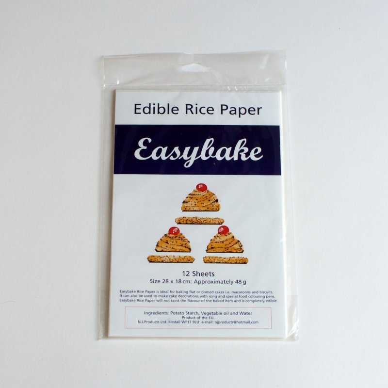 Edible Rice Paper White The Ballymaloe Shop